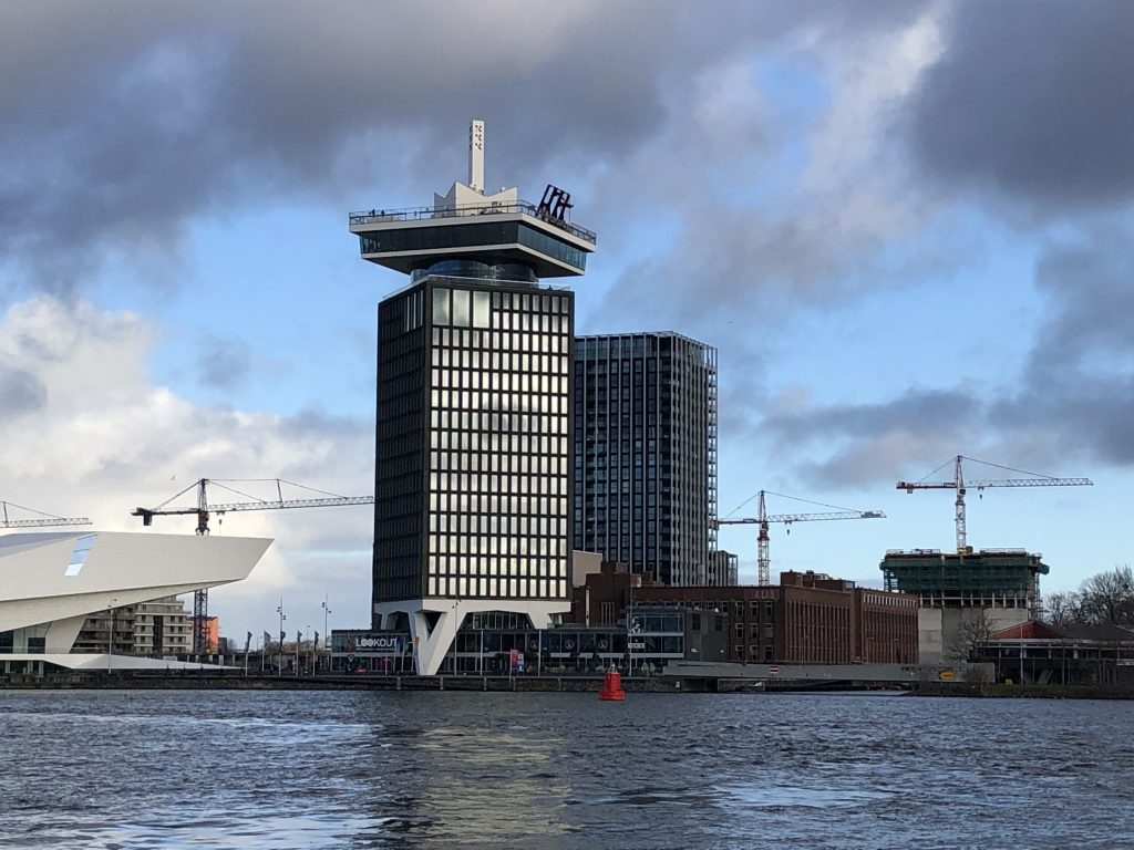 Hotspots in Amsterdam: A'DAM Tower