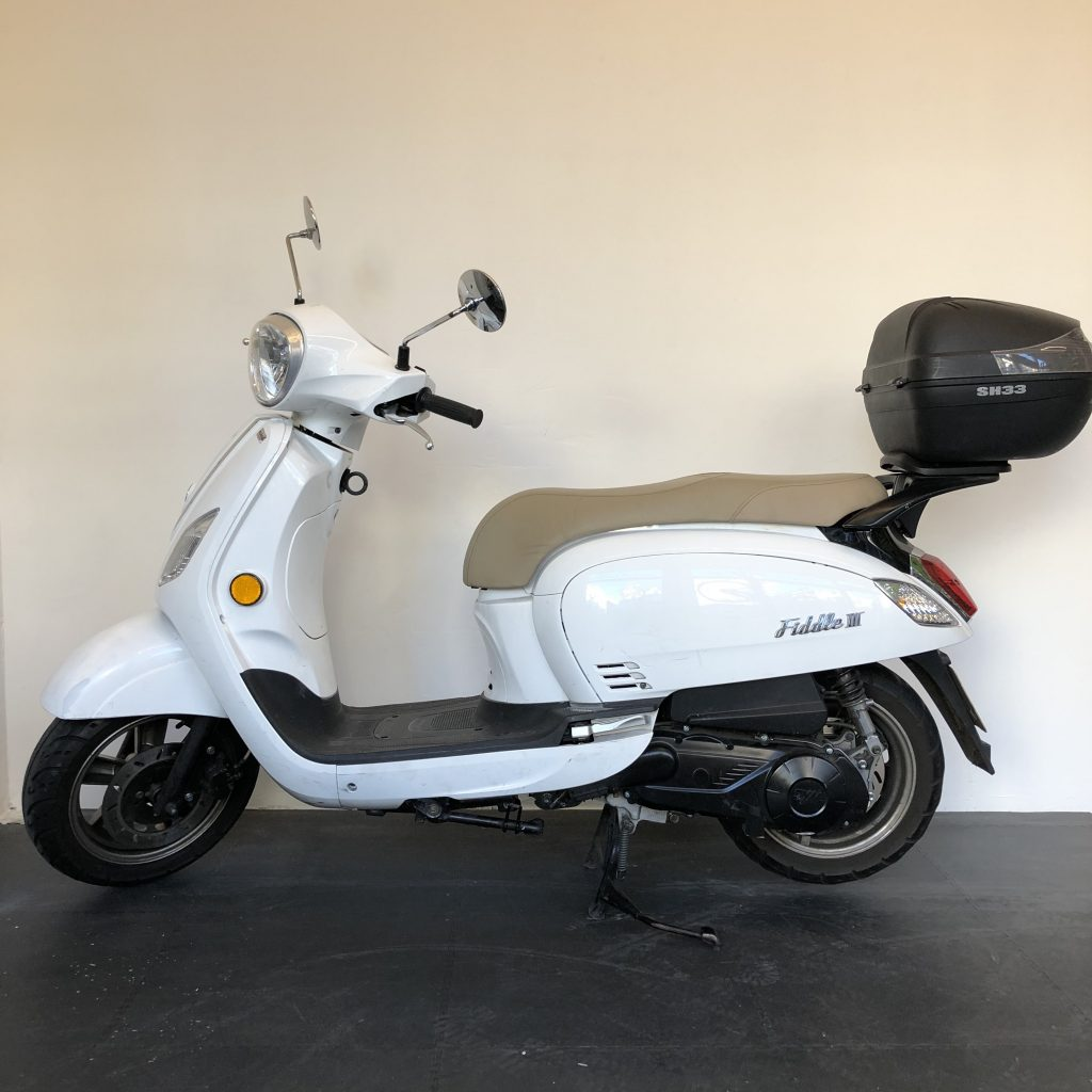 Our 125cc rental scooter