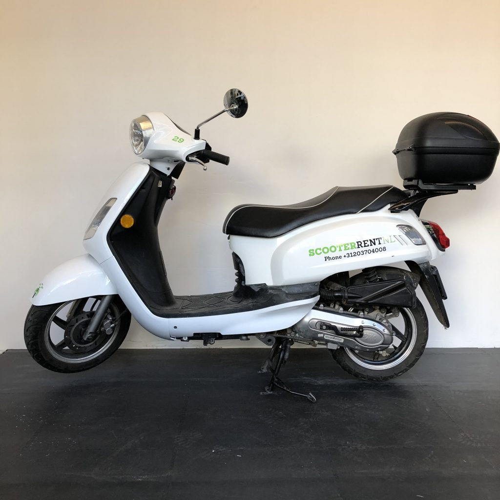 Our 50cc rental scooter