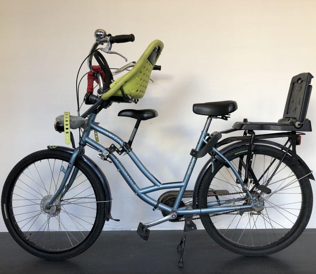 Rental bikes: Child seat bike