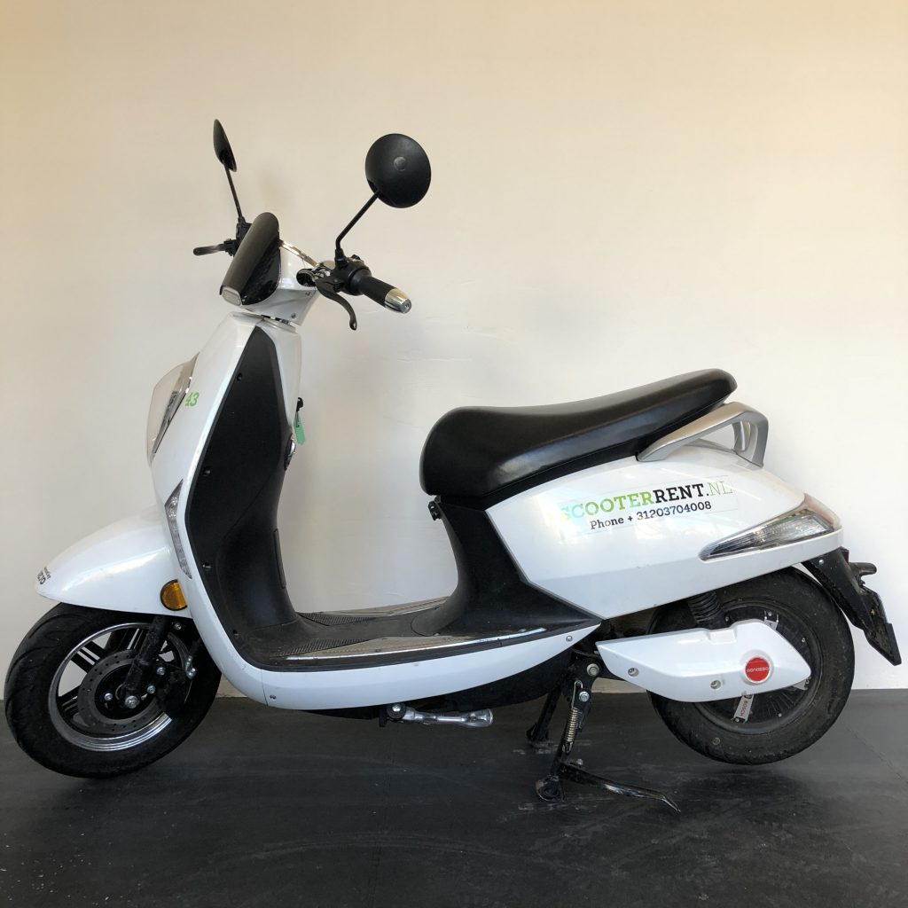 Our electric rental scooter