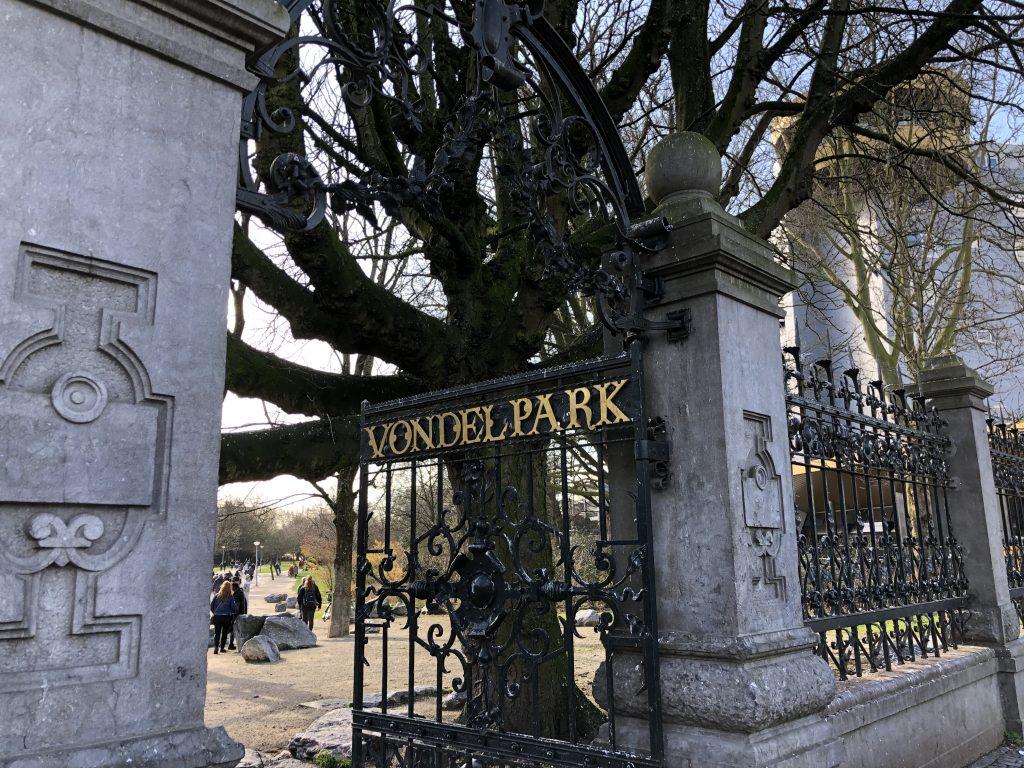 Hotspots in Amsterdam: Vondelpark